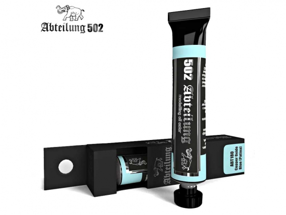 Abteilung 502 Copper Oxided Blue (Patina)