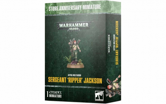 Sergeant Ripper Jackson (Store Anniversary Miniature)