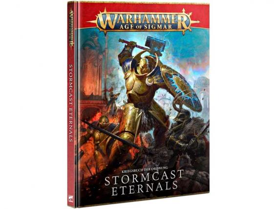 Battletome: Stormcast Eternals - Kriegsbuch der Ordnung 2021
