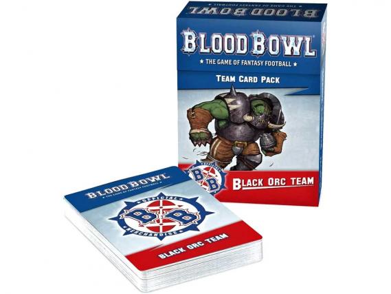 Blood Bowl: Black Orc Team Card Pack (EN)