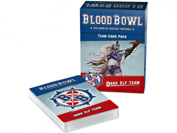 Blood Bowl: Dark Elf Team Card Pack (EN)