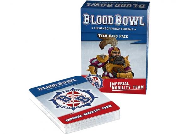 Blood Bowl: Imperial Nobility Team Card Pack (EN)