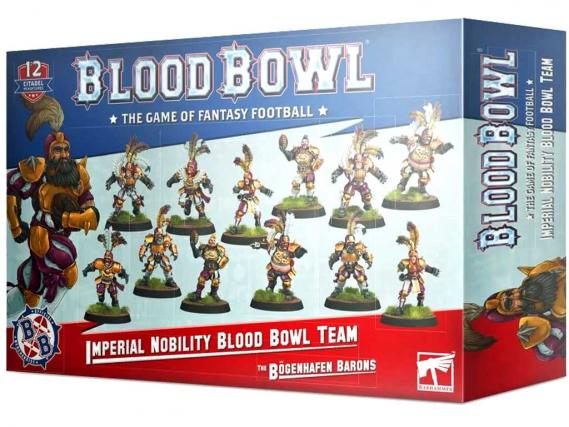 The Bögenhafen Barons - Imperial Nobility Blood Bowl Team