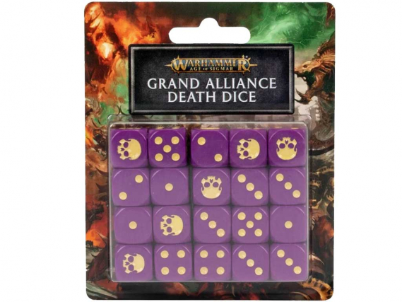 Grand Alliance Death: Würfel des Großen Bündnisses des Todes