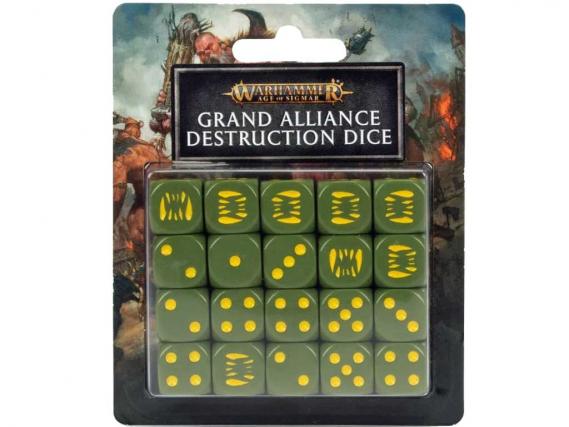 Grand Alliance Destruction: Würfel des Großen Bündnisses der Zerstörung