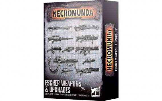 Escher Gang: Waffen & Upgrades