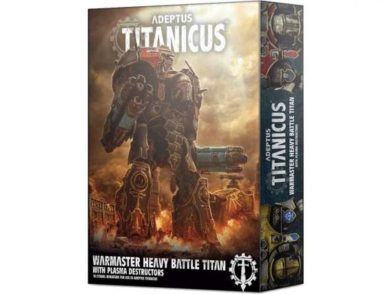 Adeptus Titanicus: Warmaster Heavy Battle Titan mit Plasma Destructors