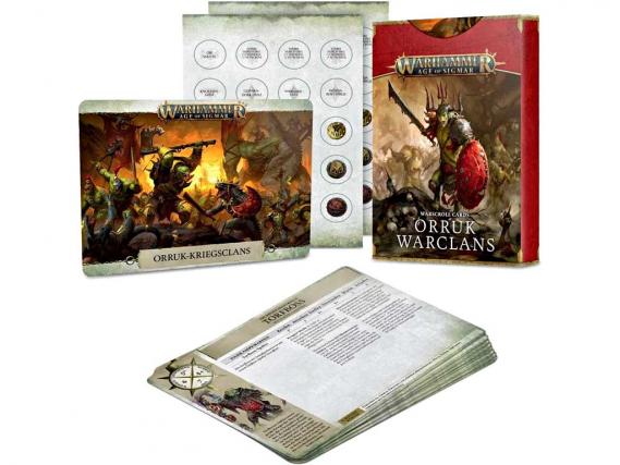Warscroll Cards: Orruk Warclans (DE)