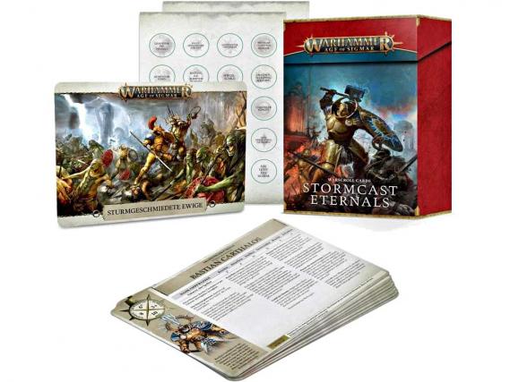 Warscroll Cards: Stormcast Eternals (DE)