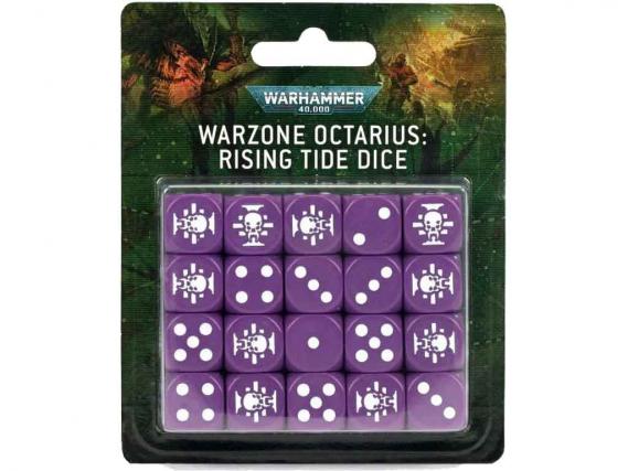 War Zone Octarius: Rising Tide Dice Set