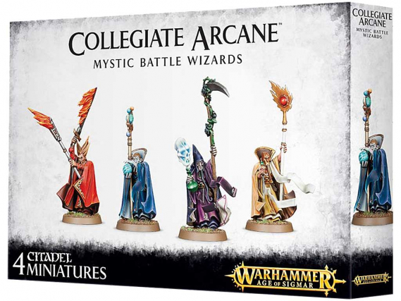 Collegiate Arcane Mystic Battle Wizards Age of Sigmar