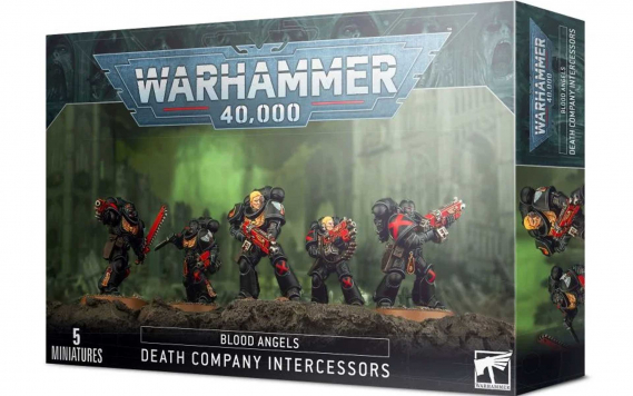 Warhammer 40,000 - Blood Angels: Death Company Intercessors