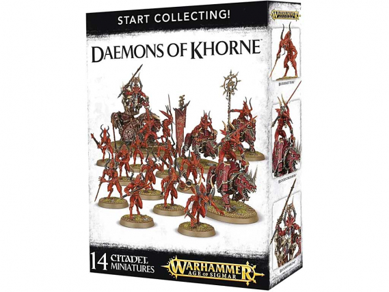 Start Collecting! Daemons of Khorne