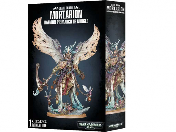 Warhammer 40,000 - Mortarion, Daemon Primarch of Nurgle