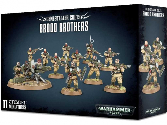 Warhammer 40,000 - Genestealer Cults: Brood Brothers