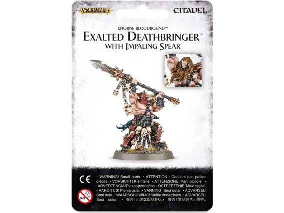 Age of Sigmar - Exalted Deathbringer mit Impaling Spear