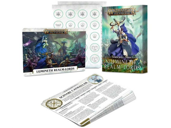 Warscroll Cards: Lumineth Realm-lords (EN)