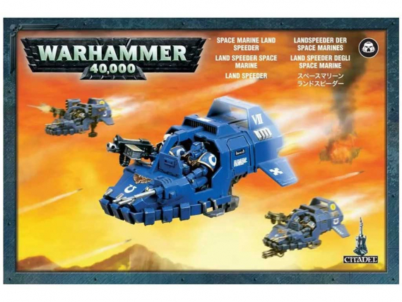 Land Speeder der Space Marines