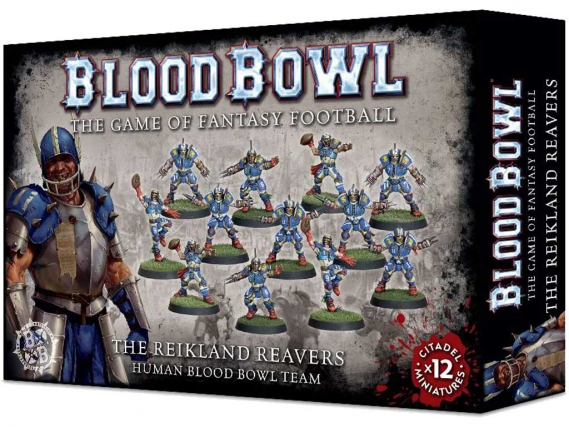Reikland Reavers - Human Blood Bowl Team