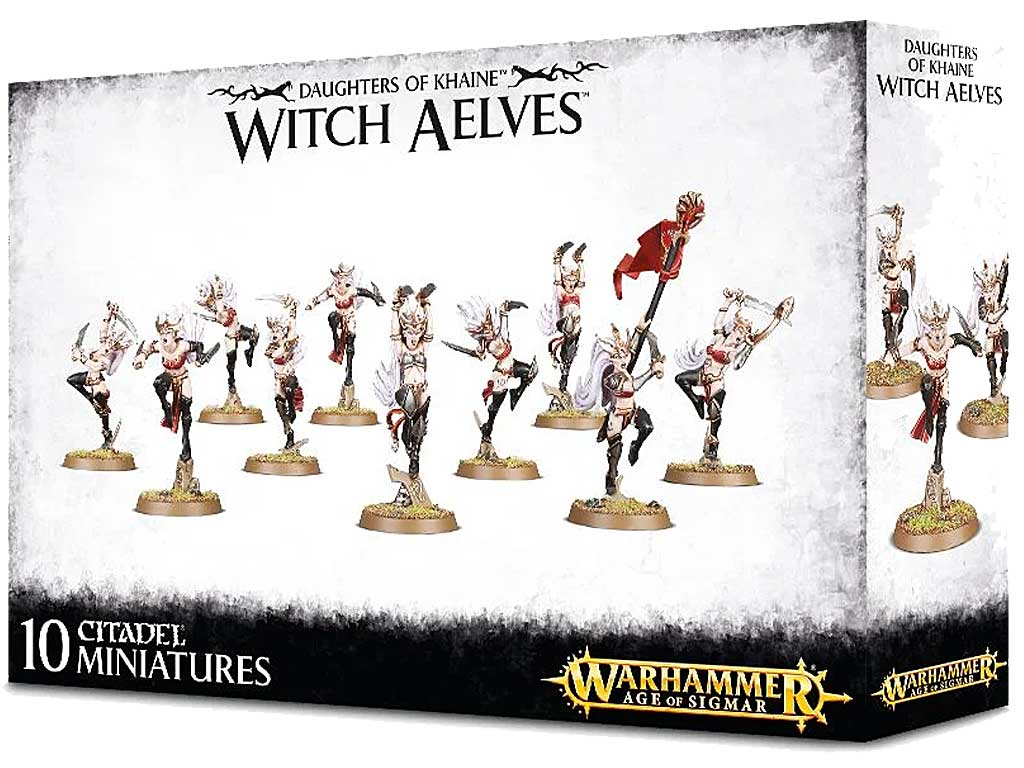 Witch Aelves Age of Sigmar Miniaturen