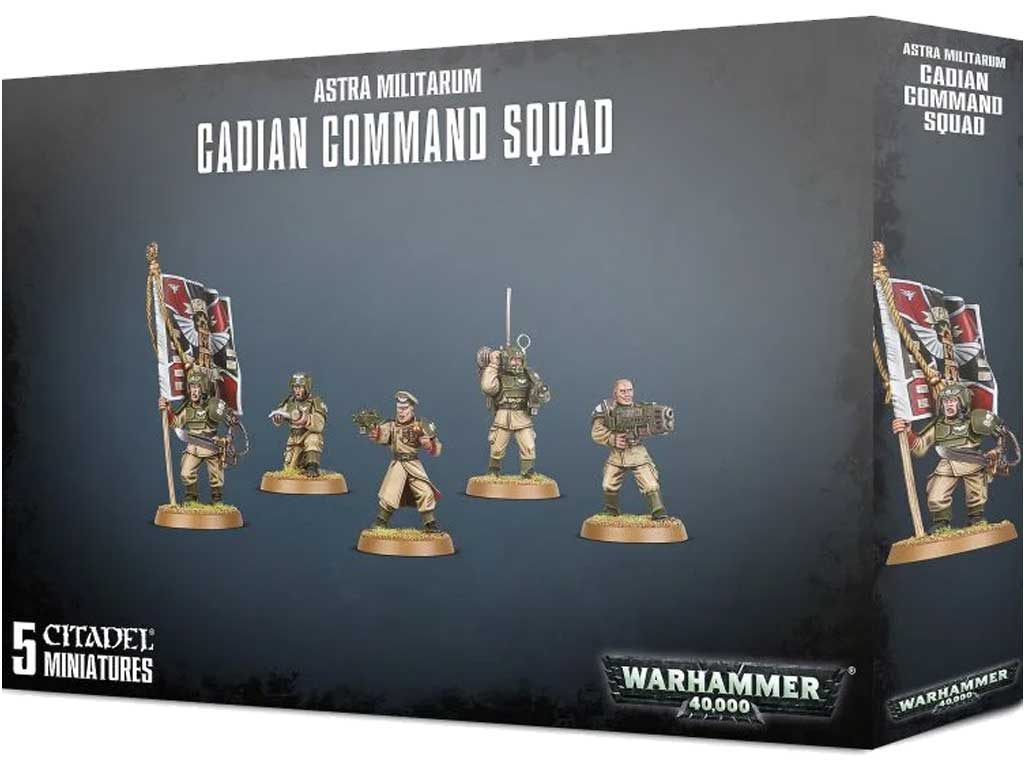Warhammer 40,000 - Cadian Command Squad