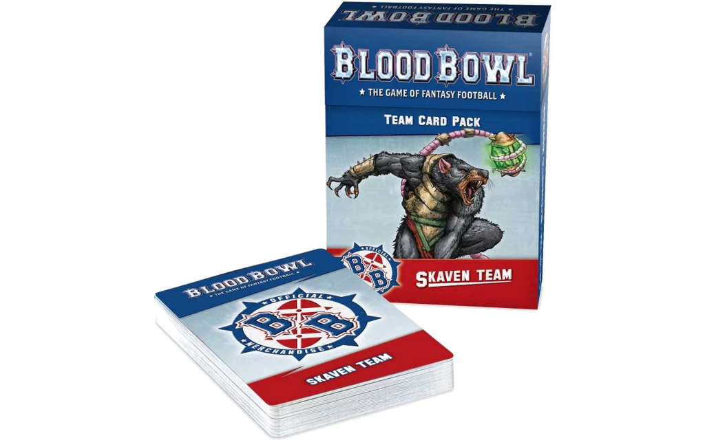 Blood Bowl - Skaven Team Card Pac