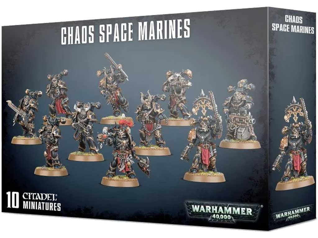 Warhammer 40,000 - Chaos Space Marines
