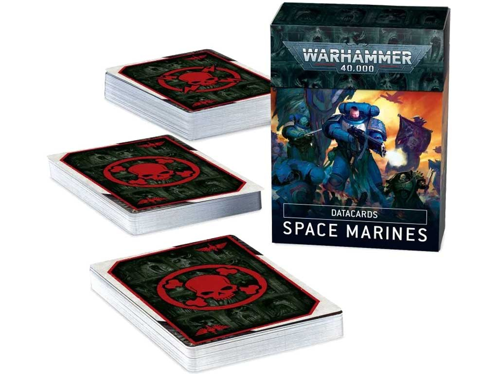 Warhammer 40,000 - Datacards: Space Marines (EN)