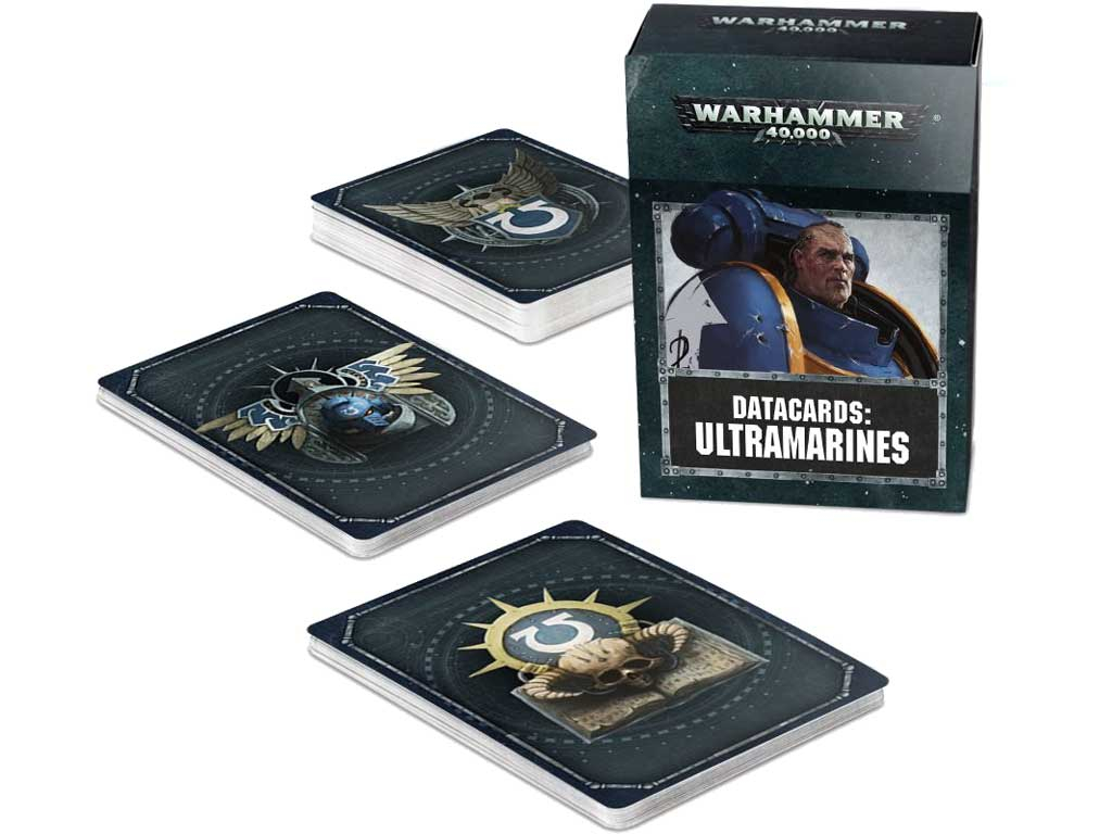 Warhammer 40,000 - Datacards: Ultramarines (EN)