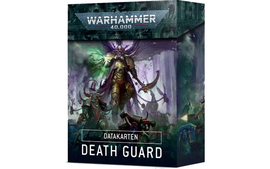 Datakarten: Death Guard (Deutsch)