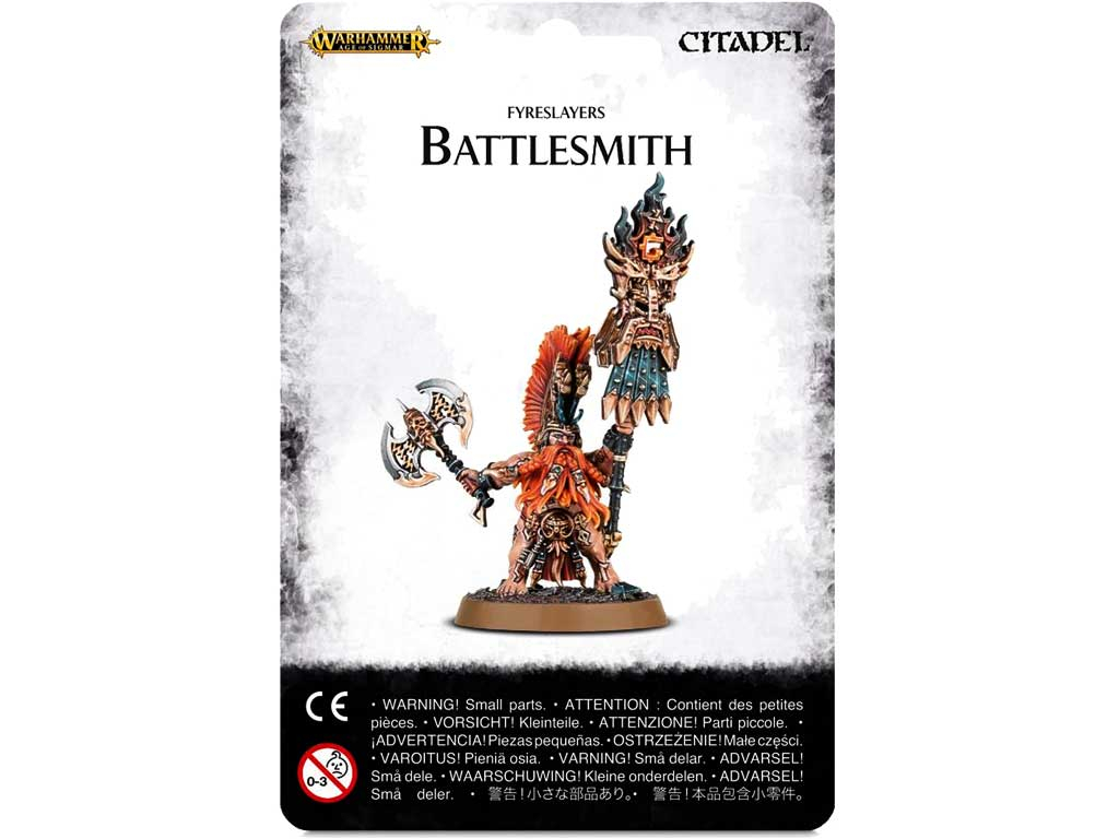 Age of Sigmar Battlesmith  Miniatur