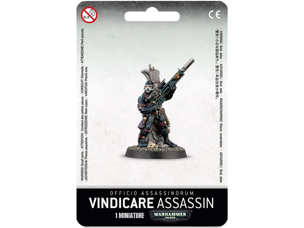 Warhammer 40,000 - Vindicare Assassin