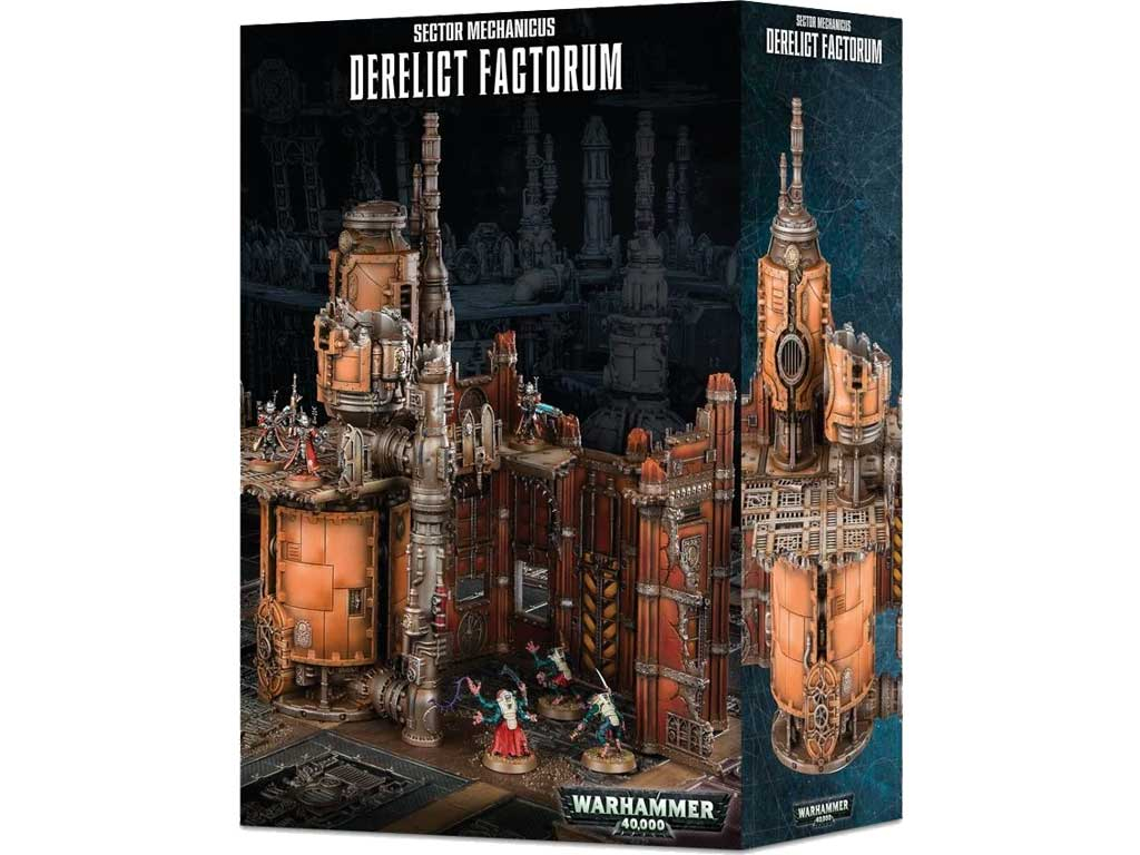 Warhammer 40,000 - Gelände: Sector Mechanicus: Derelict Factorum