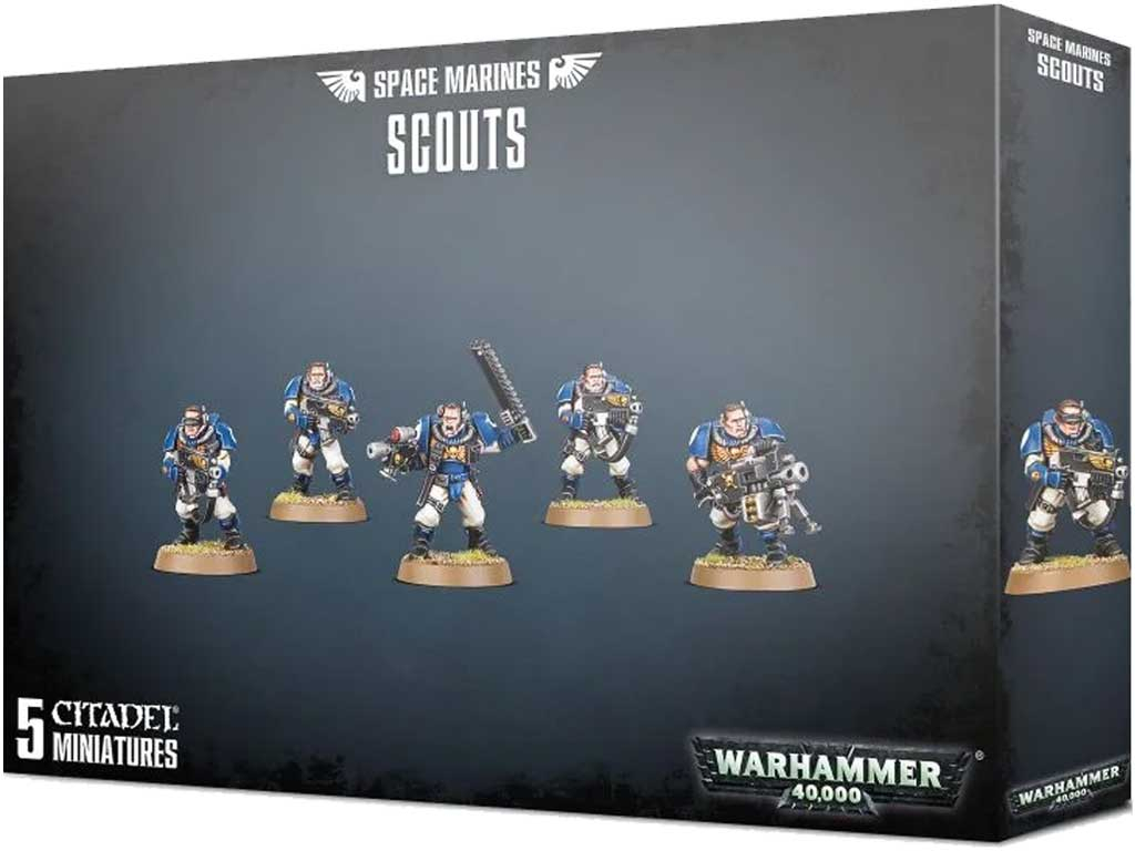 Warhammer 40,000 - Space Marines Scouts