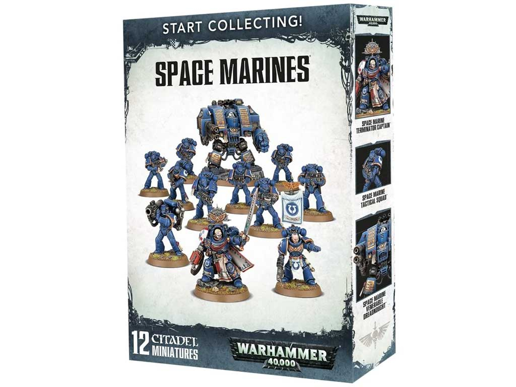 Warhammer 40,000 - Start Collecting: Space Marines