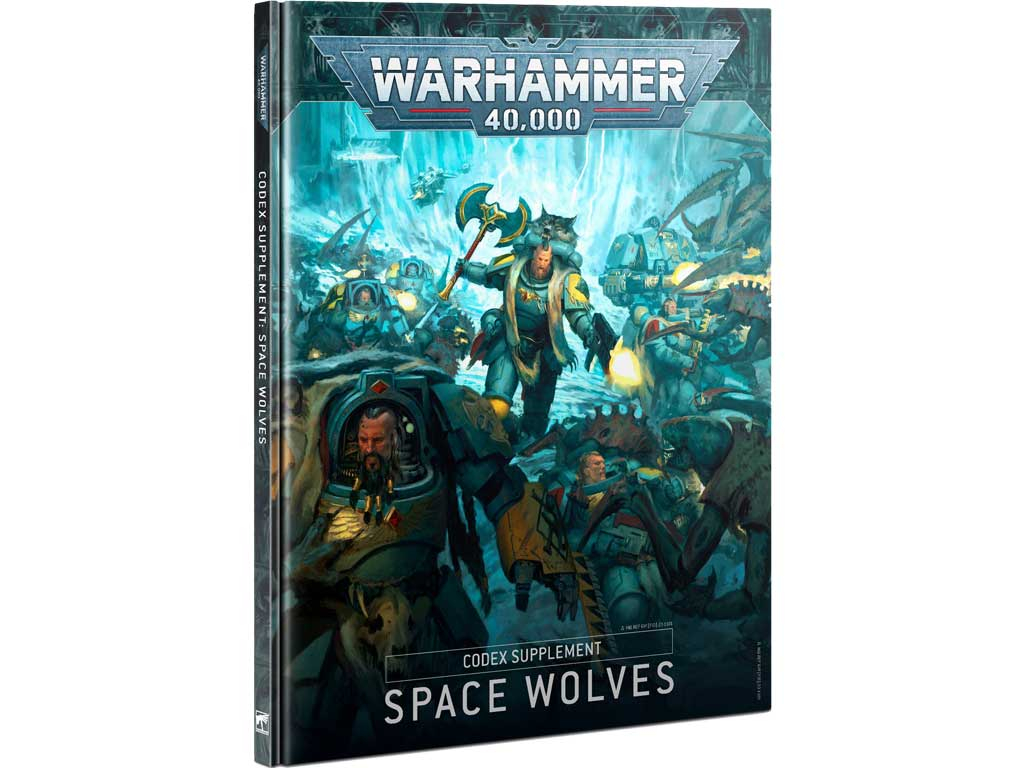 Warhammer 40,000 - Codex: Space Wolves (DE)